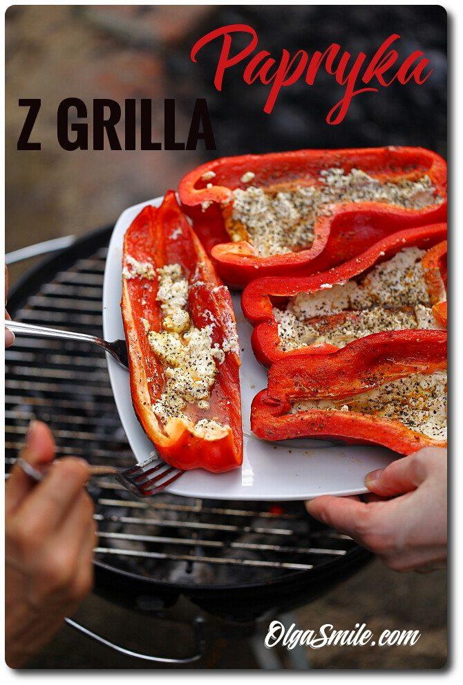 Papryka z grilla