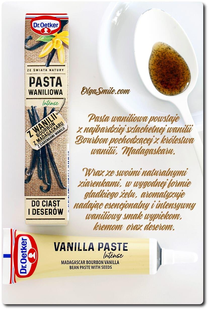 Pasta waniliowa Intense z wanilii Bourbon z Madagaskaru z ziarenkami wanilii