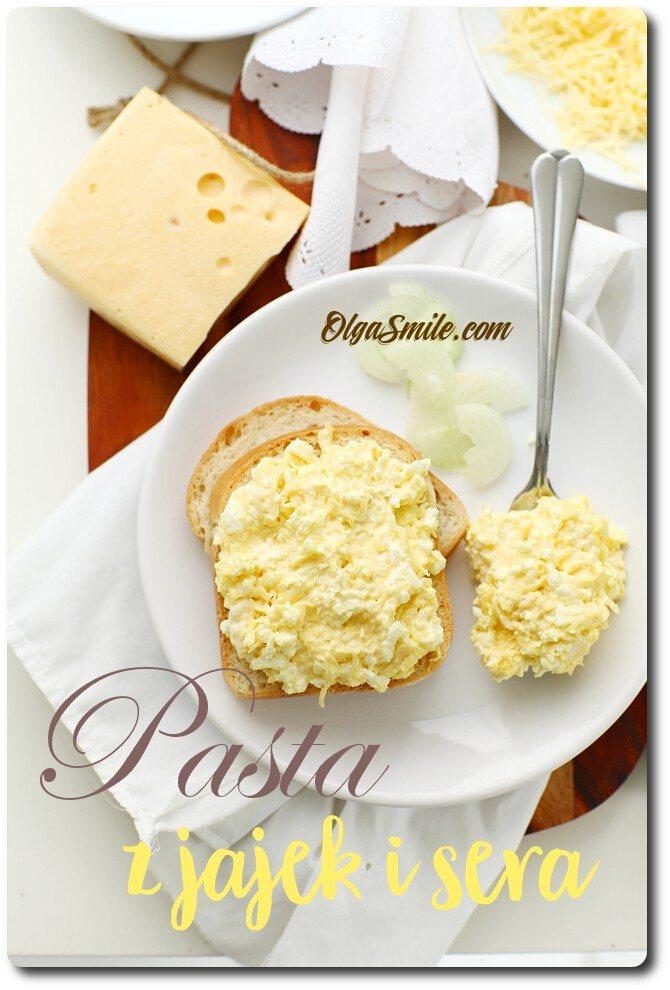Pasta z jajek i sera