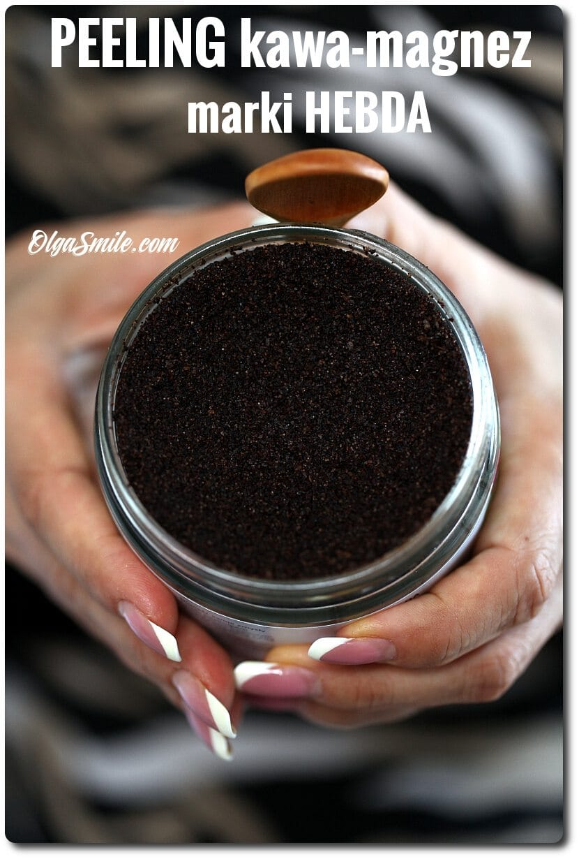 Peeling kawa-magnez marki HEBDA