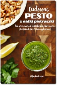 Pesto z natki pietruszki