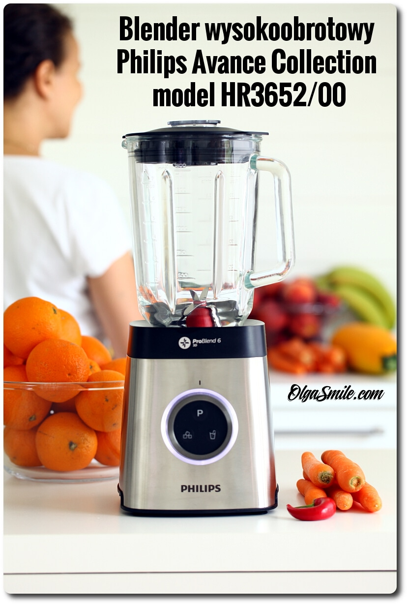Blender wysokoobrotowy Philips Avance Collection model HR3652/00