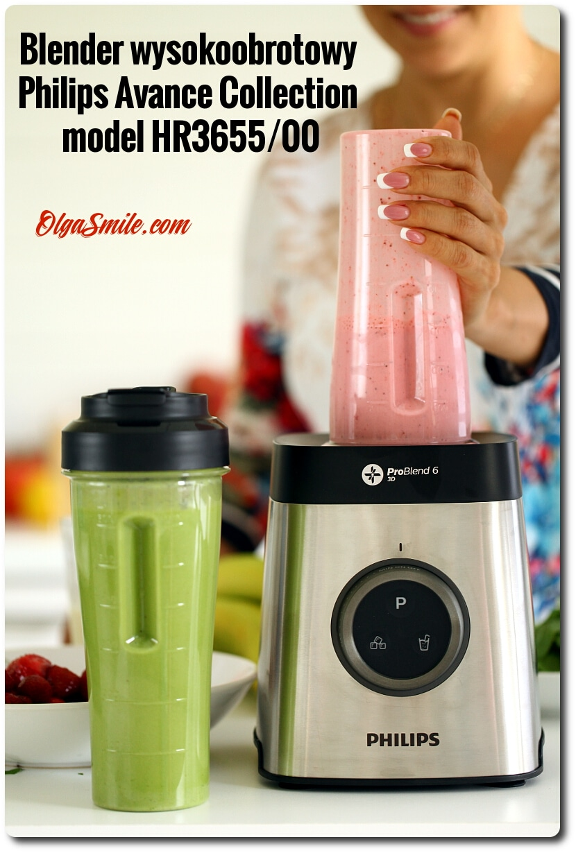 Blender wysokoobrotowy Philips Avance Collection model HR3655/00