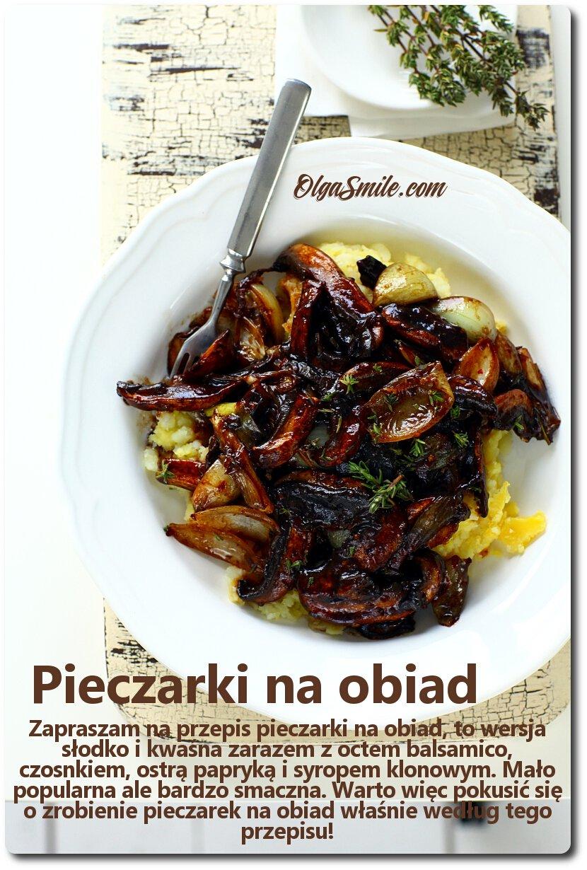 Pieczarki Na Obiad Przepis Olga Smile