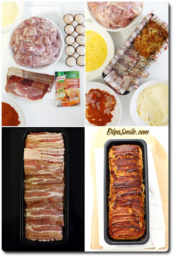 Zapiekane udka kurczaka w formie pieczeni z przyprawą Knorr do złotego kurczaka