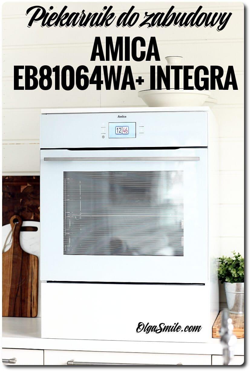 Piekarnik do zabudowy AMICA EB81064WA+ INTEGRA