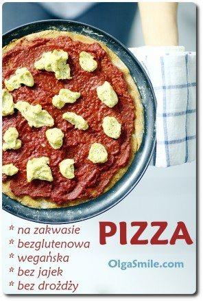Pizza na zakwasie bezglutenowa