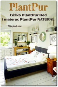 ŁÓŻKO PlantPur Bed I MATERAC PlantPur NATURAL