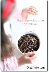 Płatki czekoladowe do mleka