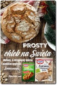 Prosty chleb na Święta