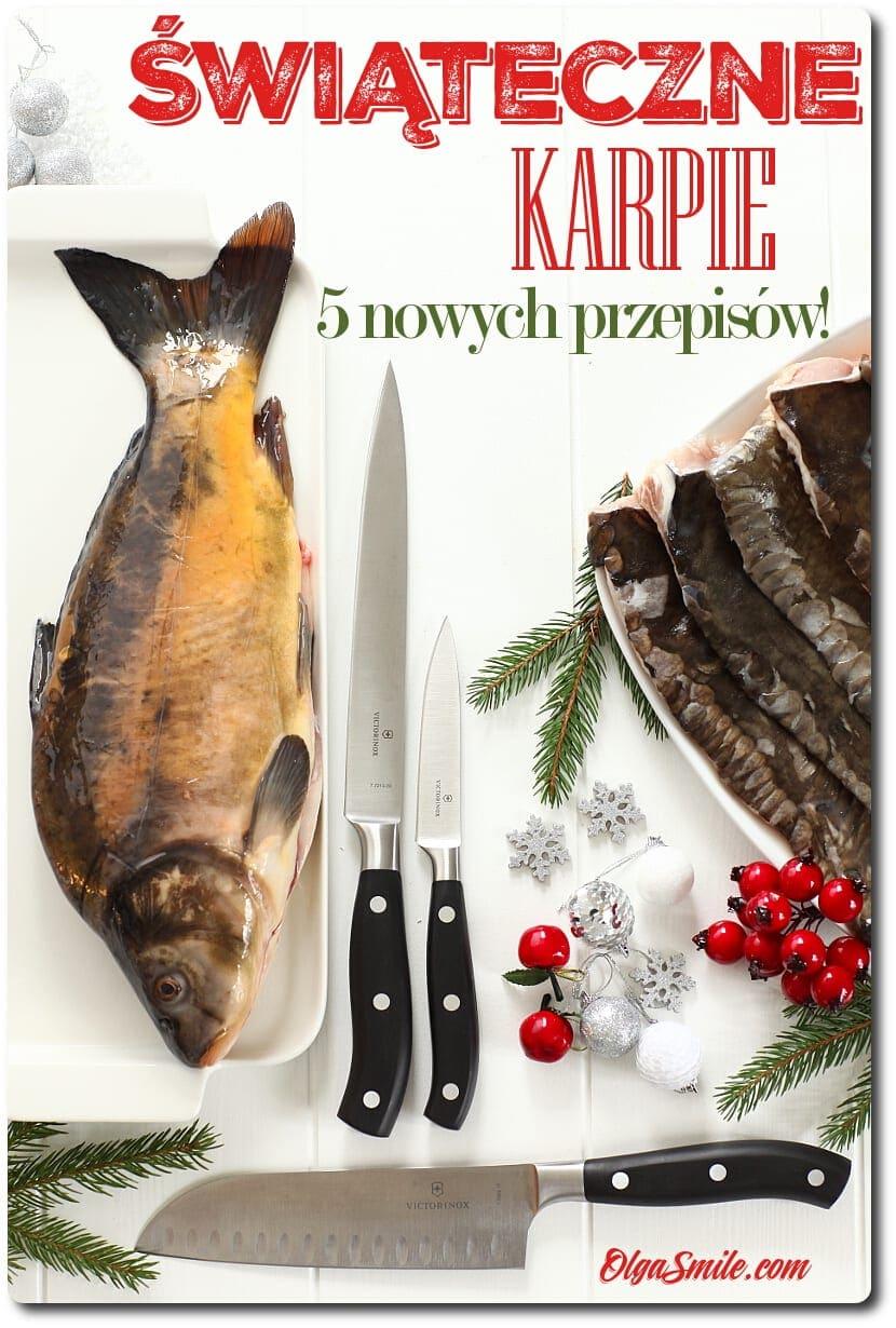 Przepisy na karpia na Święta
