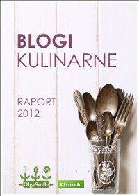 Raport Blogi Kulinarne 2012