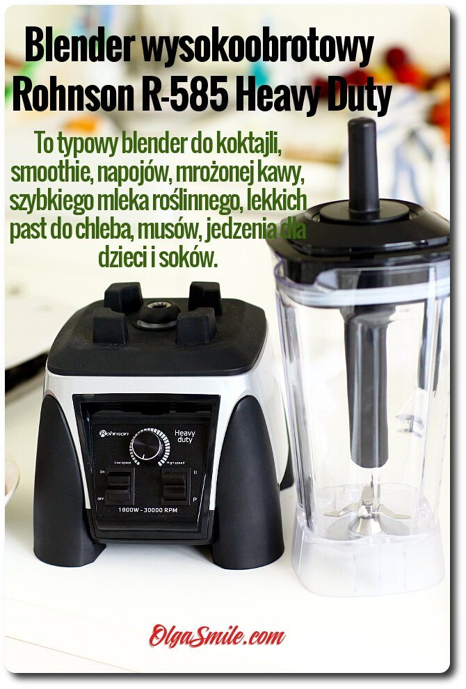 Blender wysokoobrotowy Rohnson R-585 Heavy Duty