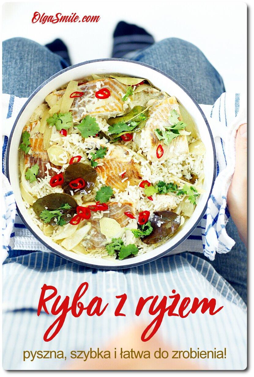 Ryba z ryżem