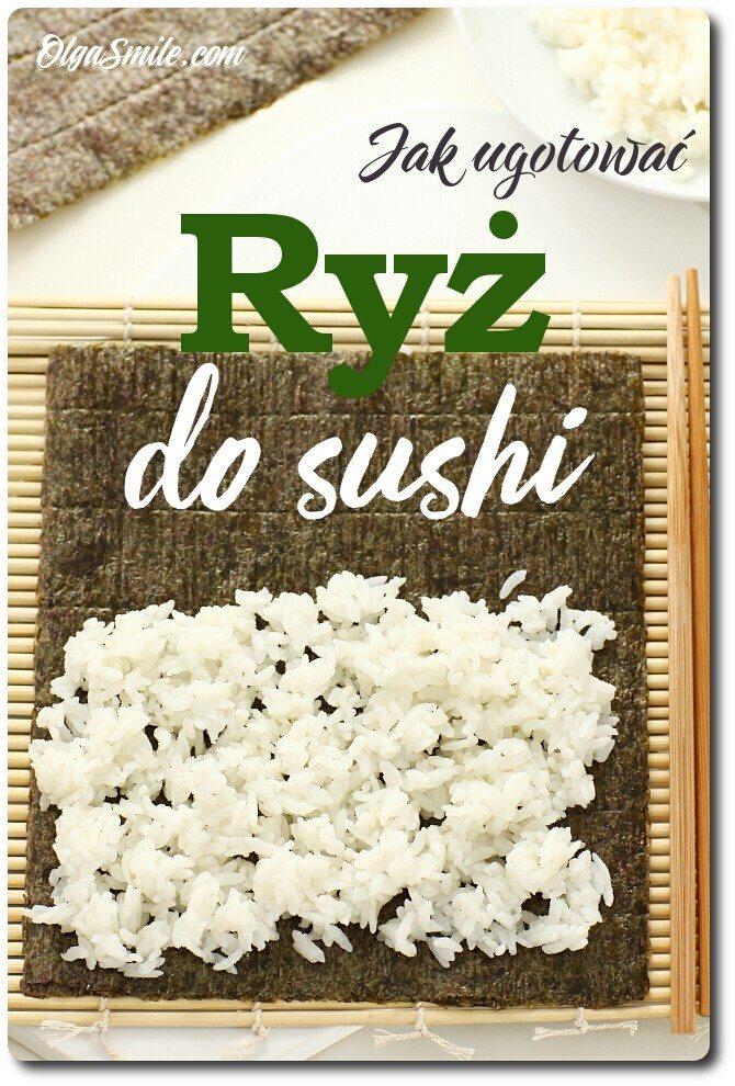 Jak ugotować ryż do sushi