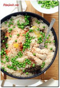 Ryż z łososiem