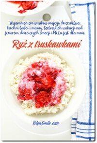 Ryż z truskawkami