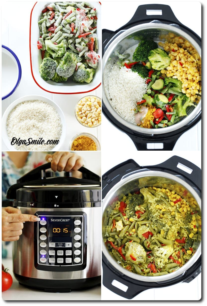 Ryż z warzywami