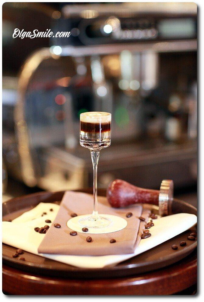 Sambuca drink Hot Shot