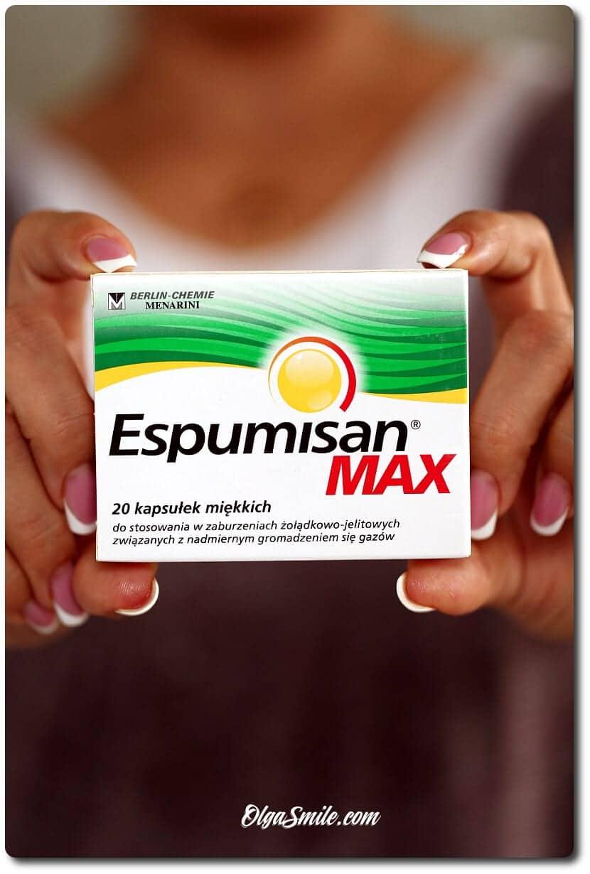 """Espumisan MAX - """"Wyrób medyczny CE"""""""