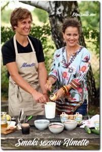 Smaki sezonu Almette Olga Smile i David Gaboriaud
