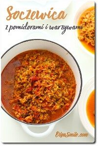 Soczewica z pomidorami