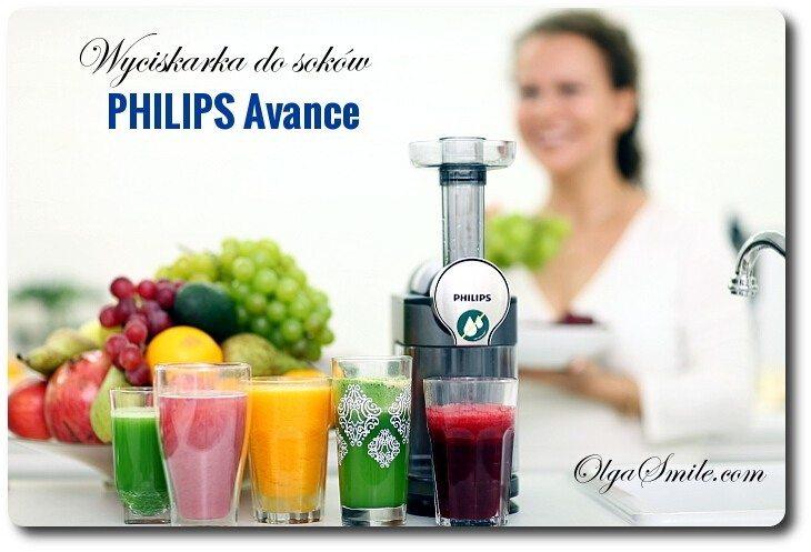 Wyciskarka wolnoobrotowa Philips Avance HR1897/30