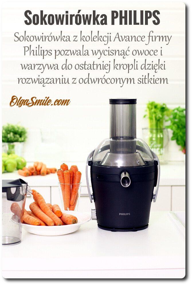 Wyciskarka a sokowirówka Philips Avance