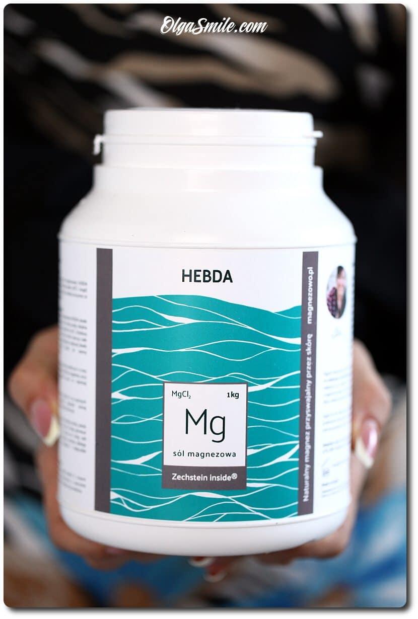 Seria magnezowa - kosmetyki marki HEBDA