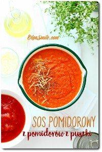 Sos pomidorowy z pomidorów z puszki