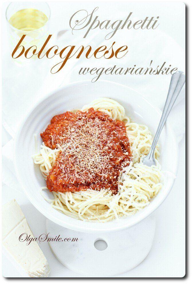 Spaghetti bolognese wegetariańskie
