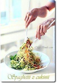 Spaghetti z cukinii