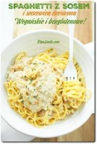 Spaghetti z soczewicą