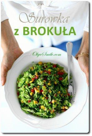 Surówka z brokuła