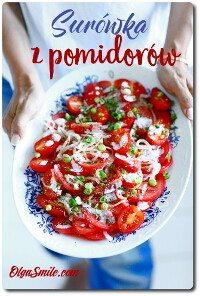 Surówka z pomidorów