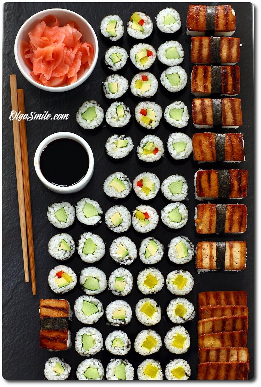 Sushi Wegetarianskie I Weganskie Przepis Olga Smile