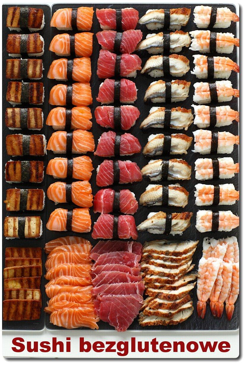 Sushi bezglutenowe