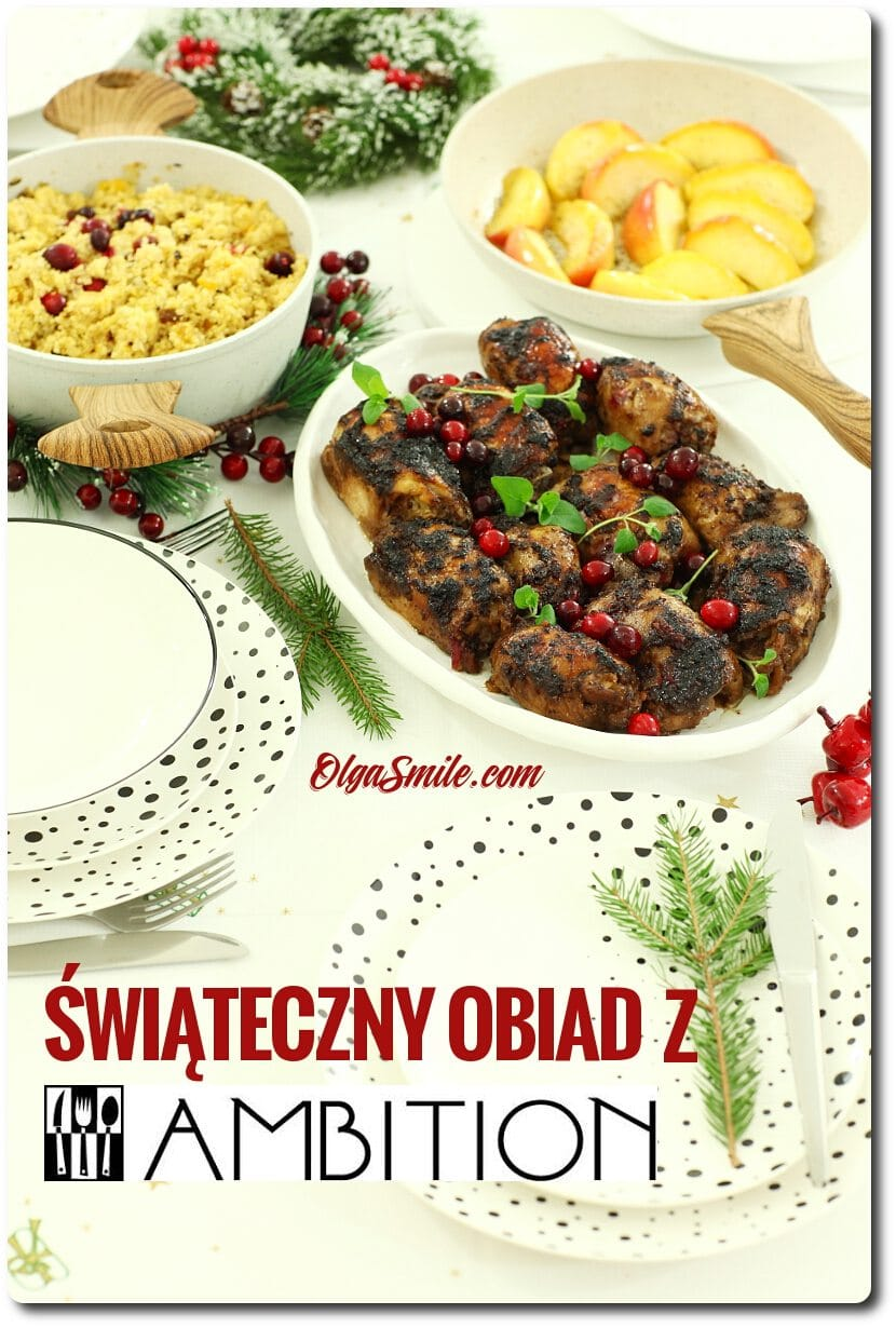 Świąteczny obiad z Ambition