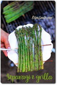 Szparagi z grilla