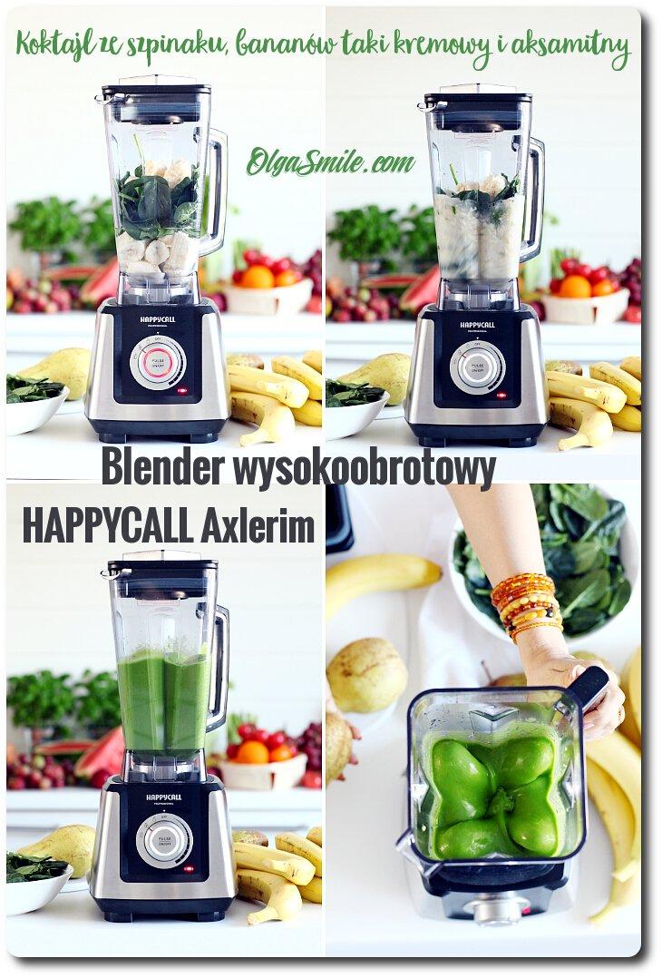 Blender wysokoobrotowy HAPPYCALL Axlerim
