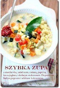 Szybka zupa kalafiorowa