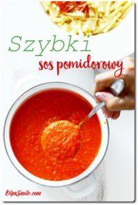 Szybki sos pomidorowy