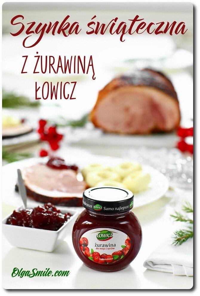 Szynka świąteczna z żurawiną Łowicz