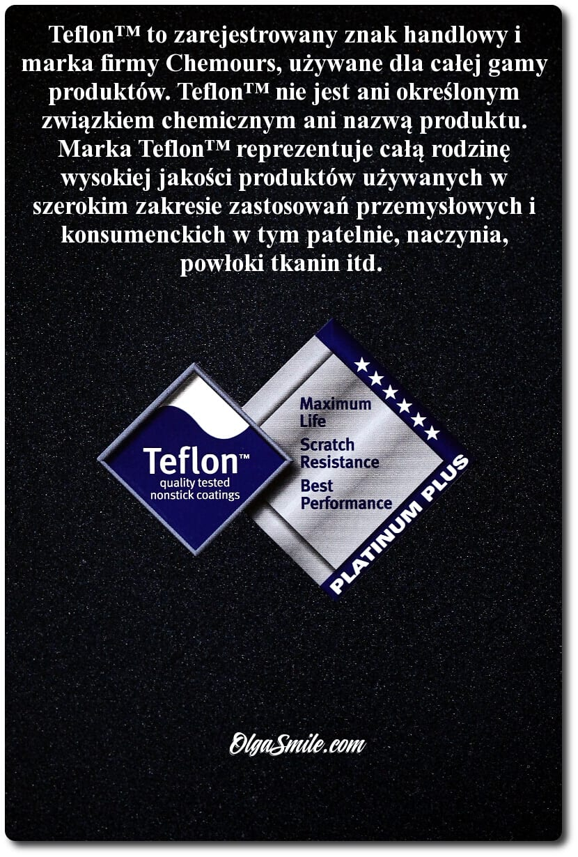 PATELNIE TEFLONOWE i powłoki Teflon™