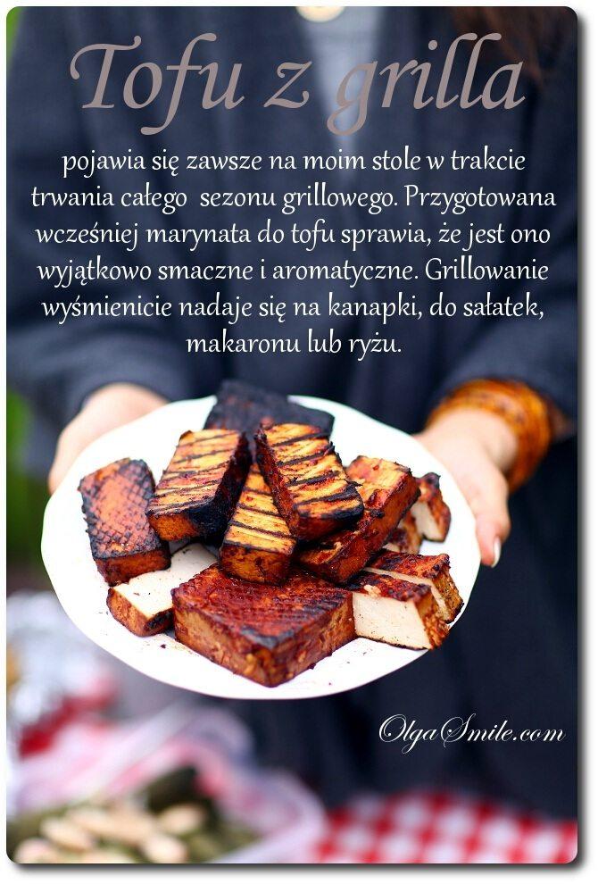 Tofu z grilla