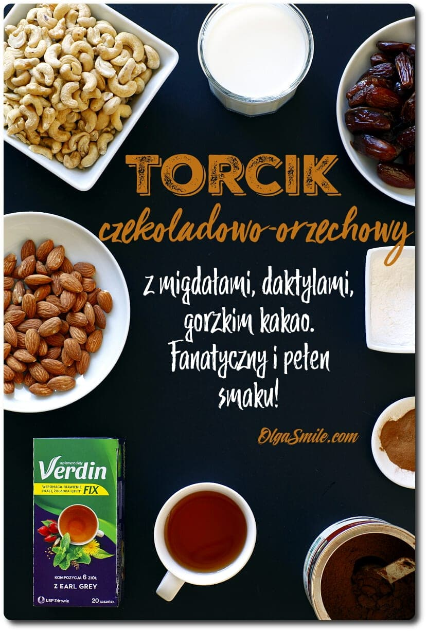 TORCIK CZEKOLADOWO-ORZECHOWY