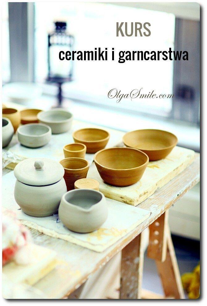 Kurs ceramiki i garncarstwa