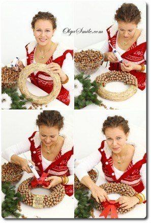 Wieńce na Boże Narodzenie