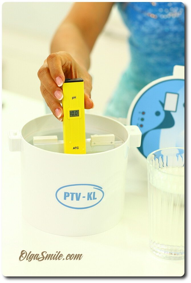 Jonizator wody PTV-KL i miernik ATC