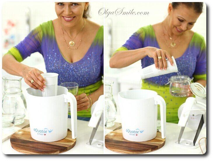 Bardzo dobra Jonizator wody aQuator Silver + przepis Olga Smile HD77